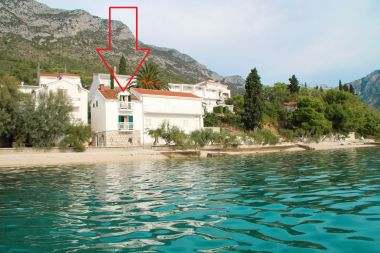 Apartmaji Bale - right at the beach & comfortable: A1 Plaza(4) Brist - Riviera Makarska